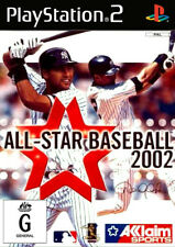 All Star Baseball 2002 PlayStation 2 Game USED