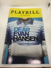 Dear Evan Hansen Broadway Playbill