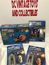 Ferengi Fighter/Phaser/ Commander Data Riker Star Trek Next Generation Galoob