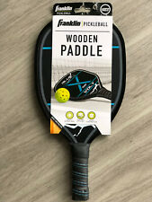 Franklin Sports Pickleball Wooden Paddle. Blue Volt. USAPA Approved. New