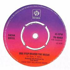 "Sacha Distel - One Step Behind Music  - 7"" Record Single"