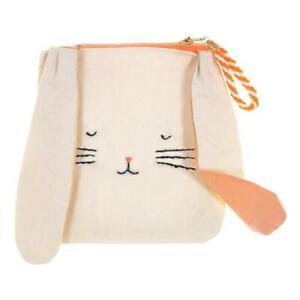 MERI MERI Easter Bunny Linen Pouch with Zip