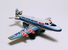 VINTAGE KLM - Royal Dutch Airlines - Small Plate Airplane for Collectors