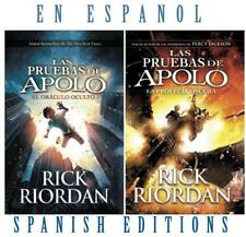 Las Pruebas de Apolo by Rick Riordan (2017, Paperback)