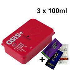 Schwarzkopf OSiS+ Mess Up Matt Texture Gum Medium Control 3x 100ml + GIFT