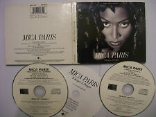 MICA PARIS Whisper A Prayer – 1993 UK 2 x CD Set – Soul – BARGAIN!