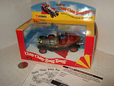 Nuevo Corgi 05301 Chitty Chitty Bang Bang & Potts Conductor figura +Trabajo Alas