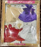 Royal Fantasy 1998 Designer Gown Collection Fits 11-1/2 Fashion Dolls