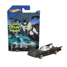 MATTEL HOT WHEELS BATMAN - 1 OF 6 - 1966 TV Series Batmobile 1/6