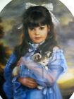 """Sandra Kuck """" Kitten """" # 226/350  $800 Value MINT (1989) Rare Child Kitten"""