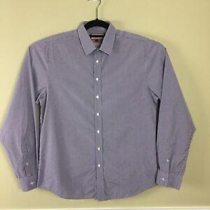 Thomas PINK Men's Super Slim Button Front Shirt 16 1/2