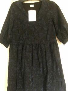 Sample Gorman Black Broderie Anglaise Dragonfly Dress Sz 8