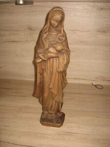 Madonna Mutter Gottes mit Kind Holz geschnitzt ca 48 cm groß
