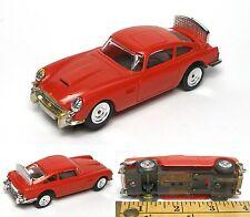 "1965 Aurora O-Gauge Super Model Motoring ASTON MARTIN DB-5 RED Slot Car 1/4"" 027"