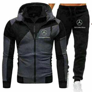 Benz Autos Herren Jogging Anzug Trainingsanzug Sweatshirt Hose Sportanzug sthfgp