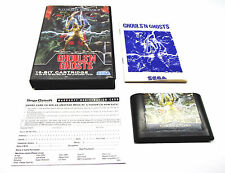 GHOULS N GHOSTS OZISOFT SEGA MEGA DRIVE GAME RARE SUIT COLLECTOR GENESIS NOMAD