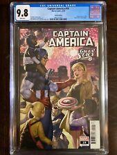 Marvel Comics CAPTAIN AMERICA 19 CGC Grade 9.8 (4/20) Gwen Stacy Variant
