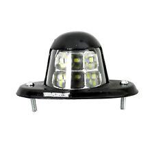 White Universal LED License Plate Tag Light for Car Van Trailer Trucks 12V 6-SMD