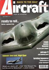 Aircraft Illustrated 2003 April Ryanair,Spanish Air Force,S-3 Viking,Boeing