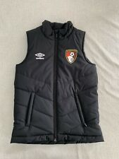 AFC Bournemouth Kids Black Matchday Gilet - Youth Small 134cm - Immaculate Cond.