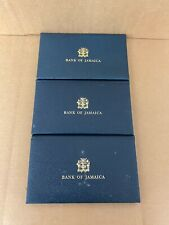 1976 & 1977 Sets of Four UNC Bank of Jamaica Banknotes