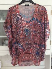 Klass Floaty Embellished With Sparkle Top Size 18 Excellent Condition