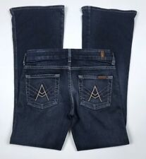 7 For All Mankind A Pocket Dark Wash Bootcut Jeans Size 24 X 31