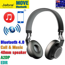 Jabra MOVE Wireless Bluetooth A2DP Stereo Headphones Headset EDR Black