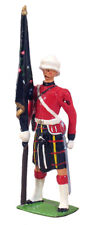 W Britain Collectible Soldiers 49009 Cameron Highlander Ensign Regimental Colour