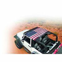 Vertically Driven Products Brief Top Jeep 07-09 Wrangler JK American Flag50710-1