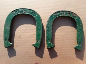 Official Double Ringer Pitching Horseshoe. Official Diamond. 2.5 Lbs. One Pair