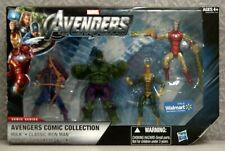 """AVENGERS COMIC COLLECTION ACTION FIGURES - 4 PACK - WALMART EXCLUSIVE - 3-3/4"""""""