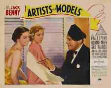 Artists and Models 1937 05 Film A3 Poster Print
