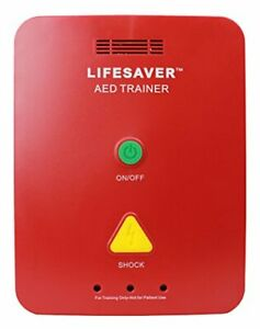 CPR Savers Lifesaver AED Trainer Training Device for CPR and Defibrillators 1