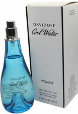 Cool Water by Davidoff 3.4 oz EDT Spray for Women - New in Tester Box