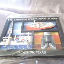 "GALVESTON TEXAS OCEAN STAR OFFSHORE MUSEUM  2-D  MAGNET 2 1/4"" X 3""   NEW"