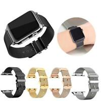 Armband Edelstahl Uhrenarmbänder 38/42mm Für Watch iWatch SeriesHot New