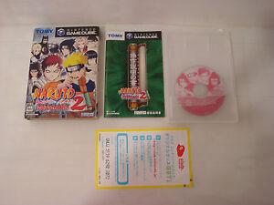 Game Naruto Clash Of Ninja 2 Gamecube nintendo Japanese Import Jap Complete Box