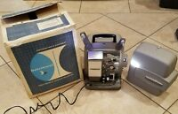 Vintage Bell & Howell Model 266A Autoload 8mm Movie Film Projector Rare USA Box