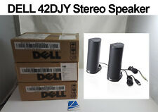 New Sealed DELL AX210 Model 42DJY USB Stereo Speaker System