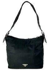 Prada nylon leather shoulder bag Used