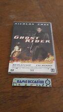 GHOST RIDER / NICOLAS CAGE /  DVD VIDEO  FILM PAL
