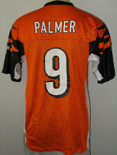 Carson Palmer #9 Cincinnati Bengals Reebok Orange Nfl Football Jersey Men Medium