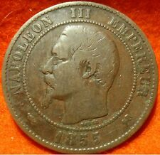 1855 B, 10 Centimes Napoléon III ,High Grade No reserve