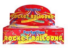 Job Lot Wholesale 72 Rocket Balloons School Fair PTA Kids Reward Toy Prize Loot