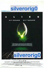 Alien Original Belgian Movie Poster Affiche Ridley Scott 1979