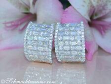 Exzellente echte Brillantschliff-Ohrschmuck mit Diamant
