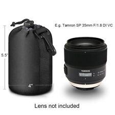 Matin  Camera Lens Bag Pouch - Medium Hot Neoprene Soft DSLR