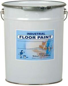 UK PAINT - Polyurethane Floor Paint - 5L - Light Blue