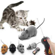 Pet Cat Puppy Toy Wireless Remote Control Electronic Rat Mouse Mice Toys RC
